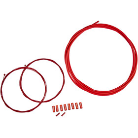 KCNC Shifting cable set Outer Brake Cable red